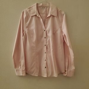 Calvin Klein Pink Button up Womens Large